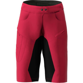Zimtstern Taila Evo Shorts Damen jester red/pirate black